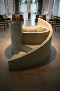baptismal font, Mirfield, Community of the Resurrction