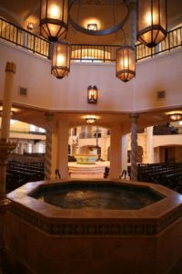 Baptistery of Visitation Parish, Kansas City, MIssouri
