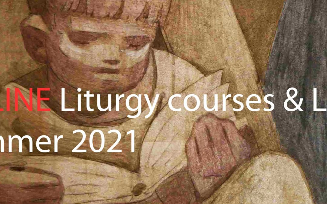 boy reading - Online Liturgy Courses & Latin Summer 2021